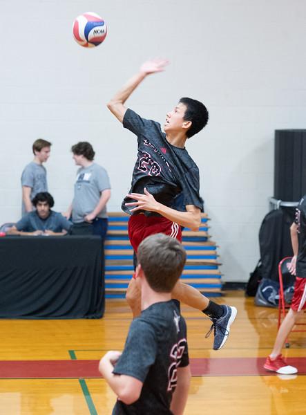 Greenhill @ SJS Boys Varsity Volleyball