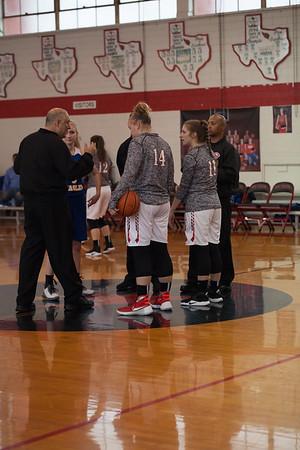SPH Girls Playoff Basketball 2-10-18