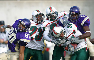 DANCING IN OCTOBER. State Rivals' MVSU v. Alcorn State battle for a year's worth of bragging rights.