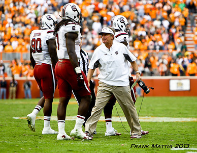 NCAA Football 2013-Tennessee beats South Carolina 23-21