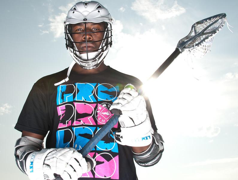Brendan Porter for LMX Pro LaCrosse. Photo by Lynne Skilken.
