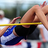 "20110521_TROY_STATE_JB_RASPOTNIK.JPG Lyons' Olivia Raspotnik clears 5'1"" in the high jump, locking up fourth place during the State Track and Field Championships Saturday May 21, 2011 at Jefferson County Stadium. (Joshua Buck/Times-Call)"
