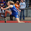 20110521_TROL_STATE_JB_KLOTZ.JPG Longmont's Molly Klotz competes in the 300 meter hurdles during the State Track and Field Championships Saturday May 21, 2011 at Jefferson County Stadium. (Joshua Buck/Times-Call)