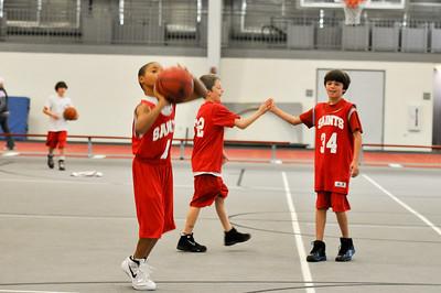 STC 5th Grade Basketball -- 2011