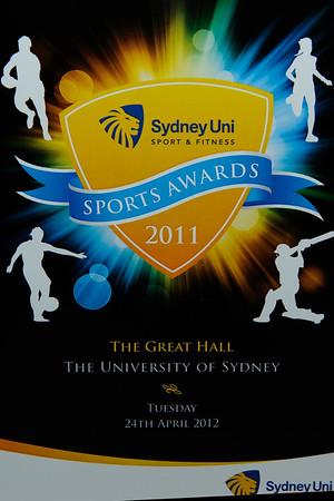 Sydney University Sports Awards 2012
