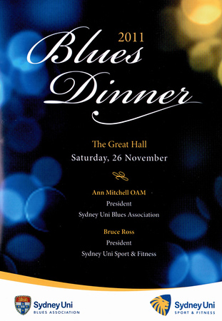 SUSF Blues Awards 26.11.2011