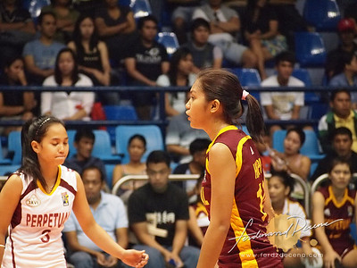 Perpetual Help vs San Sebastian - April Rose Hingpit