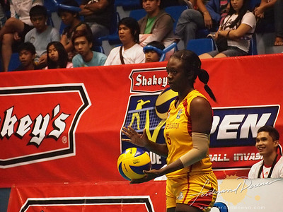 SVL Day 1 San Sebastian vs Philippine Airforce, Lauren Ford