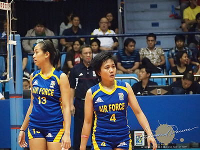 SVL Day 1 San Sebastian vs Philippine Airforce - Maizo and Semana