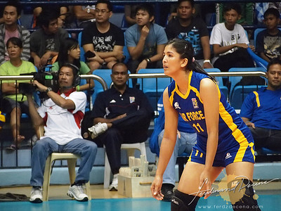 SVL Day 1 San Sebastian vs Philippine Airforce - Cherry Rose Macatangay