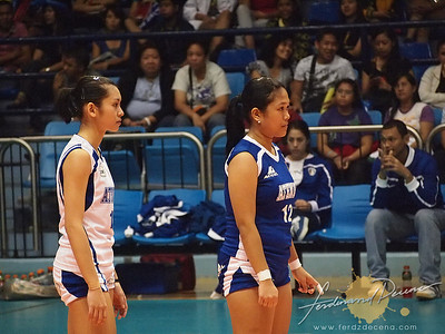 SVL Day 1 Ateneo Blue Eagles vs Maynilad Water Dragons - Ferrer and Lazaro