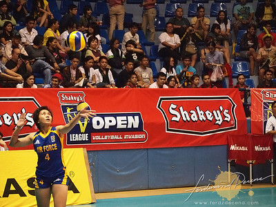 SVL Day 1 San Sebastian vs Philippine Airforce - Wendy Anne Semana