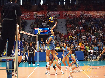 SVL Day 1 Ateneo Blue Eagles vs Maynilad Water Dragons - Joy Cases