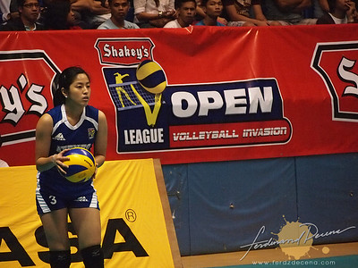 SVL Day 1 Ateneo Blue Eagles vs Maynilad Water Dragons - Gretchen Ho
