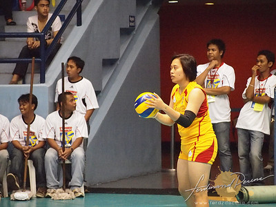 SVL Day 1 San Sebastian vs Philippine Airforce - Rubie de Leon