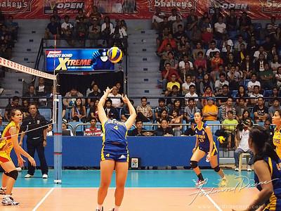SVL Day 1 San Sebastian vs Philippine Airforce - Wendy Anne Semana Pilita Corales Set