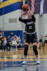 #32 Dallas CHS forward Caitlynn Jordan takes her turn at the freethrow line. <br /> Southwest Christian HS girls basketball vs. Dallas Christian HS girls basketball in the TAPPS 5A semifinals, March 9, 2021