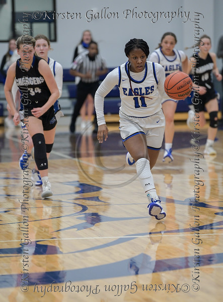 Southwest Christian High vs Dallas Christian High in girls TAPPS 5A Semifinals