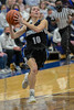 #10 Dallas CHS guard Jenna Rasbury goes in for a lay-up. Southwest Christian HS girls basketball vs. Dallas Christian HS girls basketball in the TAPPS 5A semifinals, March 9, 2021