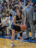 #10 Dallas CHS guard Jenna Rasbury looks for women to pass off the ball. <br /> Southwest Christian HS girls basketball vs. Dallas Christian HS girls basketball in the TAPPS 5A semifinals, March 9, 2021