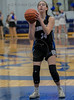 #34 Dallas CHS forward Ansley Hughes at the free throw line.<br />  Southwest Christian HS girls basketball vs. Dallas Christian HS girls basketball in the TAPPS 5A semifinals, March 9, 2021