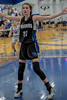 #21 Dallas CHS forward Maddie Perkins sets up on defense. <br /> Southwest Christian HS girls basketball vs. Dallas Christian HS girls basketball in the TAPPS 5A semifinals, March 9, 2021