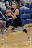 #10 Dallas CHS guard Jenna Rasbury.<br /> Southwest Christian HS girls basketball vs. Dallas Christian HS girls basketball in the TAPPS 5A semifinals, March 9, 2021