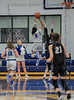 #5 SWCHS guard Arieona Rosborough goes in for the lay-up. Southwest Christian HS girls basketball vs. Dallas Christian HS girls basketball in the TAPPS 5A semifinals, March 9, 2021