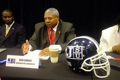 Rick Comegy - Jackson State Head Coach