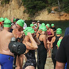 Start of the 1-mile swim
