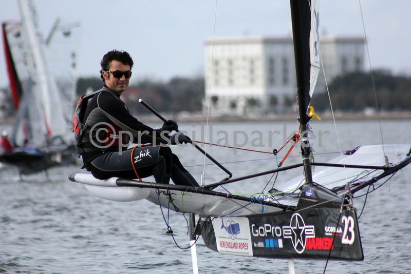 Bora Gulari, third in the regatta