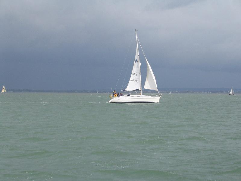 Sailing Solent Aug 04