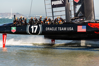 Oracle Team Wins another one