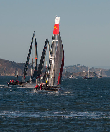 America's Cup World Series Racing
