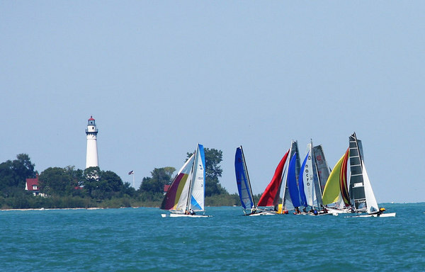 Aug 12,'06-Racine RYC Great Lakes Cat Fight VII Races