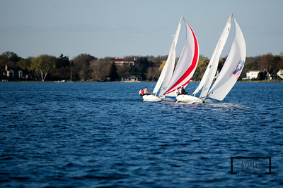 H8 and H7 on Lake Mendota.  Gr8 Expect8ions  © Copyright m2 Photography - Michael J. Mikkelson 2009. All Rights Reserved. Images can not be used without permission.