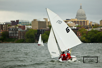 420 Sailing Regatta hosted by the University of Wisconsin Sailing Team.  © Copyright m2 Photography - Michael J. Mikkelson 2009. All Rights Reserved. Images can not be used without permission.
