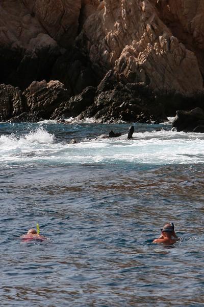 Snorkeling Near Cabo
