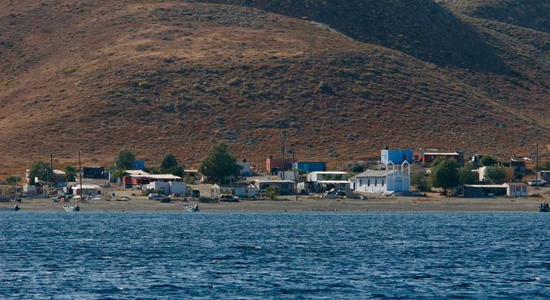 Fishing village at Man of War Anchorage