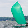 "E-Scow sailing on Lake Mendota  <I><font size=1 color=""#2180de"">© Copyright m2 Photography - Michael J. Mikkelson 2009. All Rights Reserved. Images can not be used without permission.</font></I>"