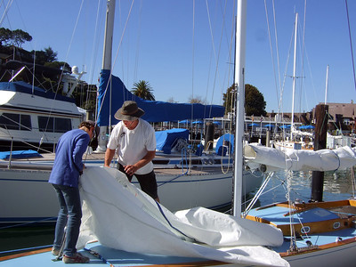 "Sailing with Ron Young on ""Youngster"" - Oct. 17, 2013"