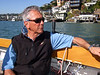 "Ron Young - Sailing on San Francisco Bay on Ron Young's classic wooden boat ""Youngster"""