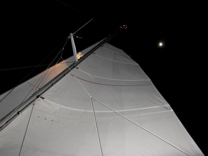 Moon light sailing