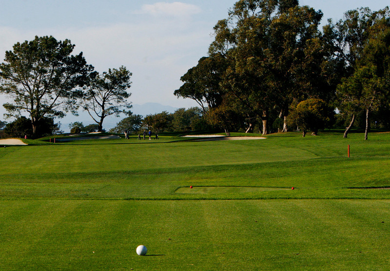 1st hole North Course Torrey Pines
