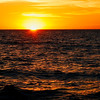 Sunset off San Diego