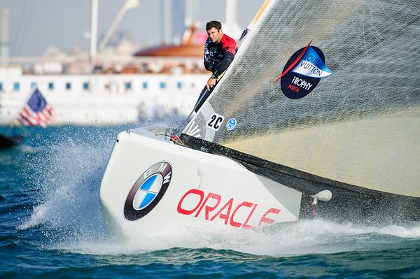 Sailing.  Louis Vuitton Trophy - Dubai, UAE, Round Robin 1, day 4, Dubai UAE. 17 Nov 2010