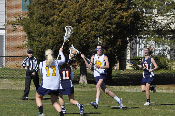 Saints V Lax 2012
