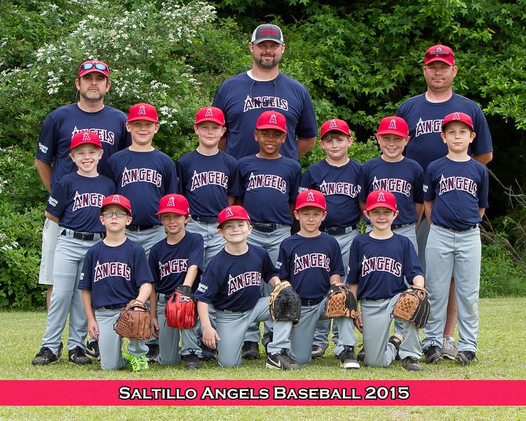 Saltillo Park and Rec Baseball 2015