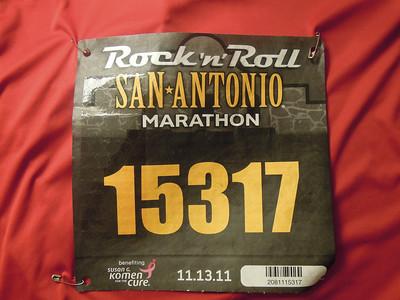 San Antonio Marathon 2011