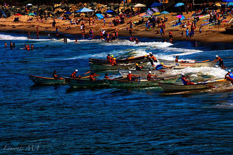 Photo painting Dory Boats